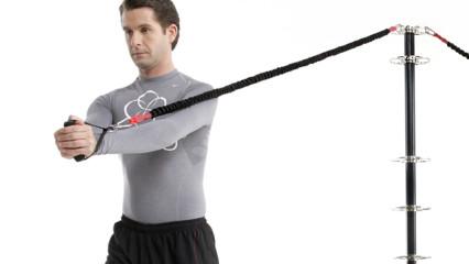 El CorePole para reafirmar los músculos del cuerpo