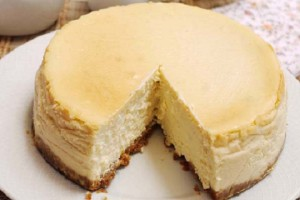 Receta de tarta de queso fría
