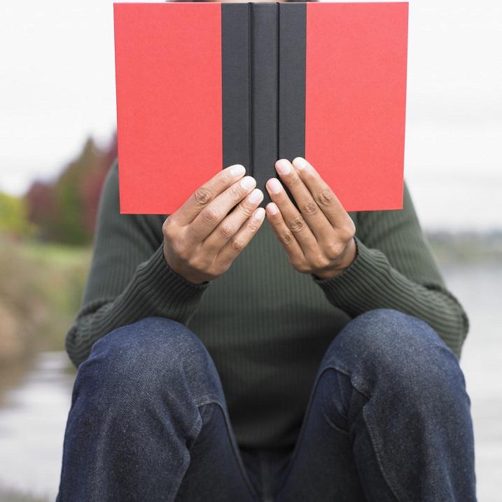 El efecto relajante de los libros