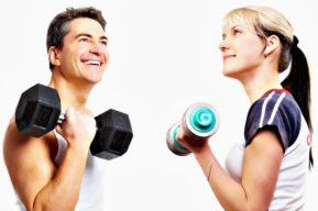 Cómo tener pensamiento positivo para perder peso en el gym