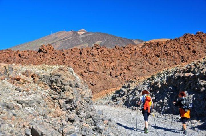 Ascenso a la cumbre del Teide
