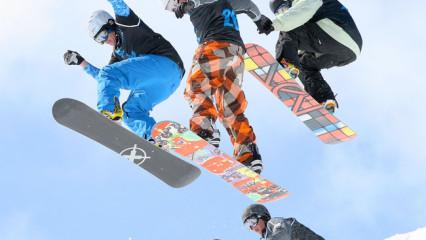 Frío, nieve y deportes de invierno