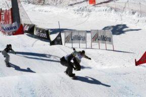 Invierno, aprender a esquiar
