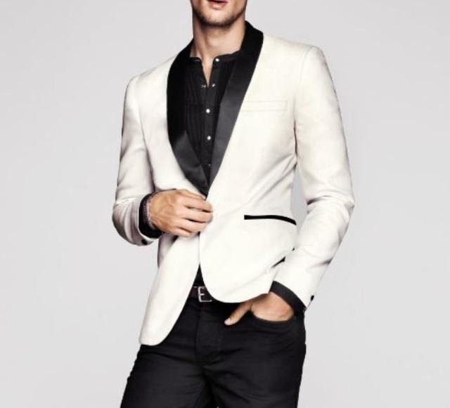 Look blanco y negro