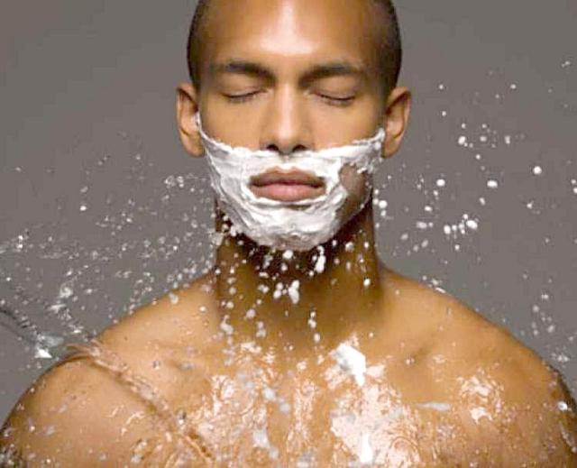El afeitado de la barba