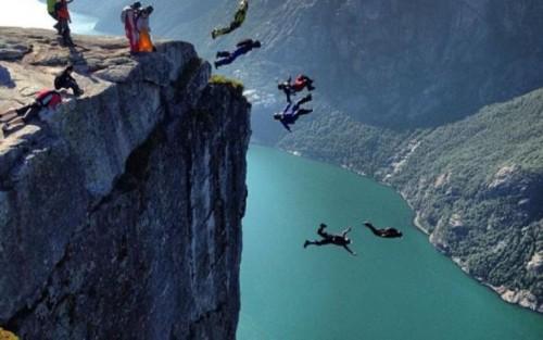 El wingsuit