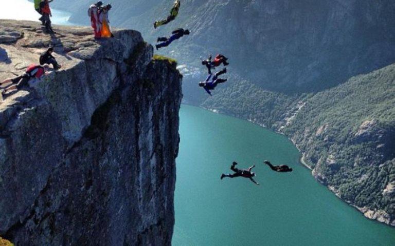 Deportes de alto riesgo: El Wingsuit