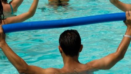 Ejercicios de aquafitness