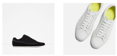 Marcas de zapatillas para hombres: catálogo Zara