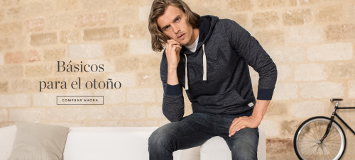 Esprit, tienda online de moda para hombre