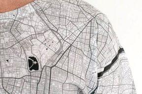 La moda de ropa City Maps, unas camisetas gráficas que causan furor