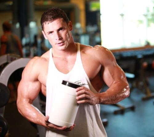 Musculación y proteínas