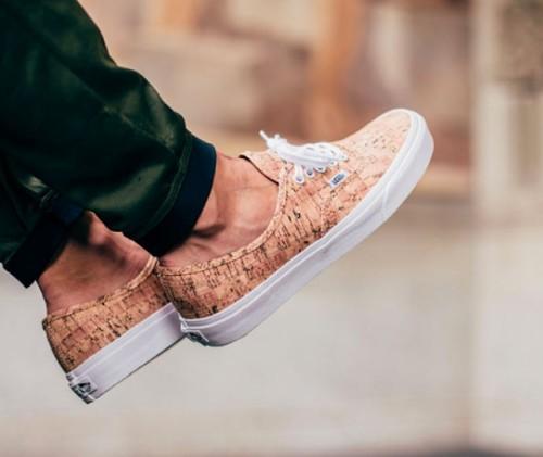 Sneakers de corcho