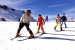 Niños y los deportes de invierno