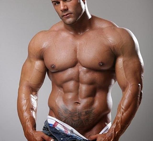 Pectorales musculosos