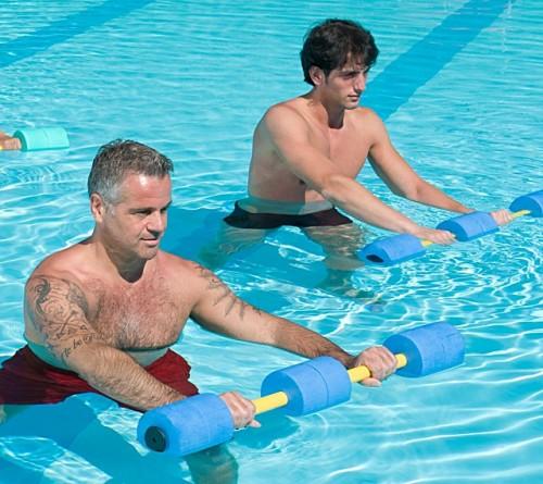 ejercicios de aquagym