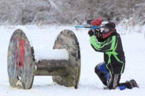 Paintball en la nieve, disfruta del invierno y la montaña