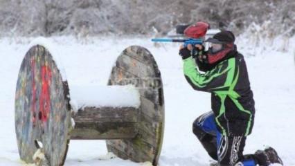 deportes de invierno Paintball