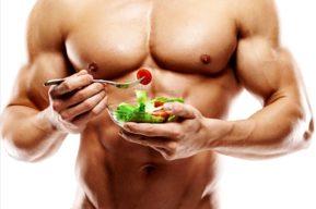 Para aumentar la masa muscular conviene comer frutas y verduras