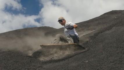 surfear el Volcan Cerro Negro