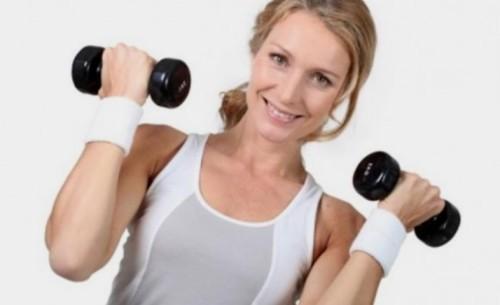 entrenamiento físico mujer