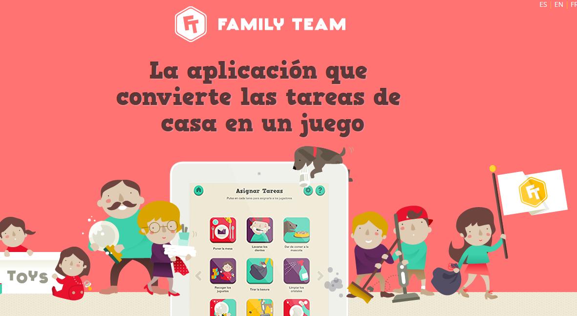 Family Team, la app para organizar las tareas de la casa