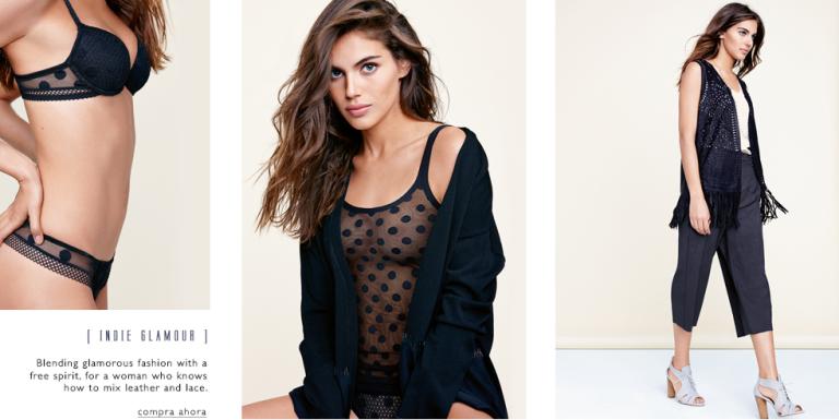 Intimissimi, tienda de ropa interior para mujeres y hombres