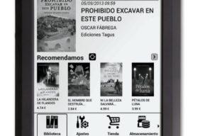 Nuevo eReaders Tagus Táctil