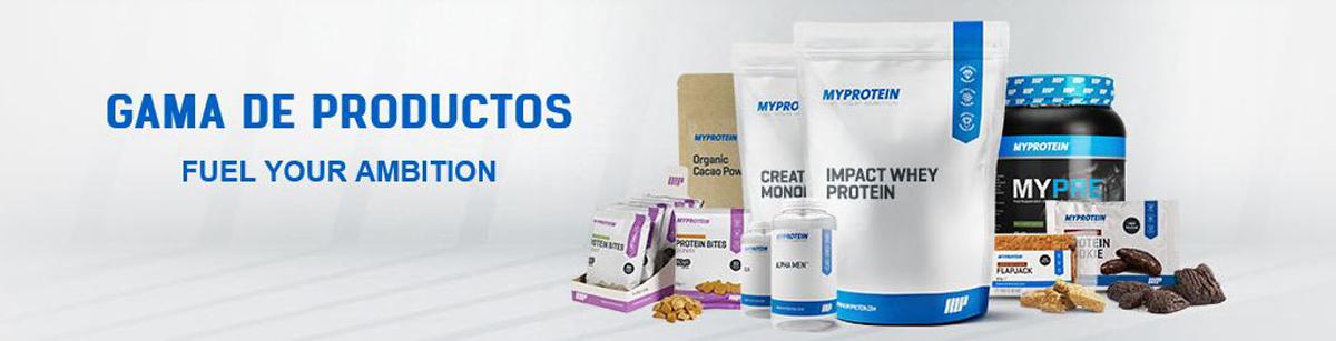 Productos Myprotein
