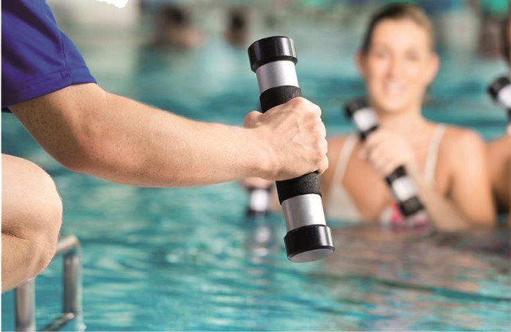 enseñanza de Aquafitness