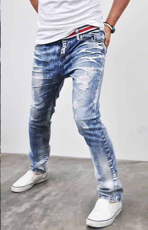 Jeans con rotos