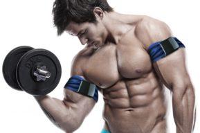 Reducción del flujo sanguíneo para aumentar la fuerza en musculación