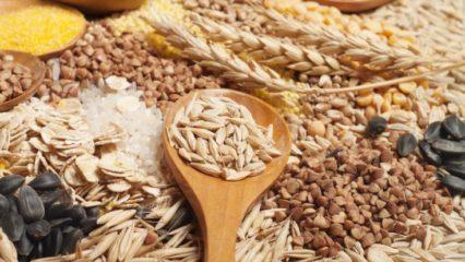 Cereales integrales beneficiosos para la salud