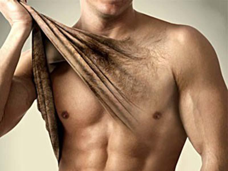 Exceso de vello masculino fotodepilación y la depilación láser