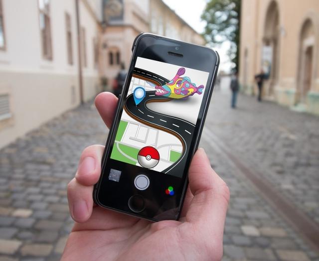 Aplicación Pokémon Go