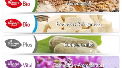 El Granero Integral productos ecológicos y super alimentos