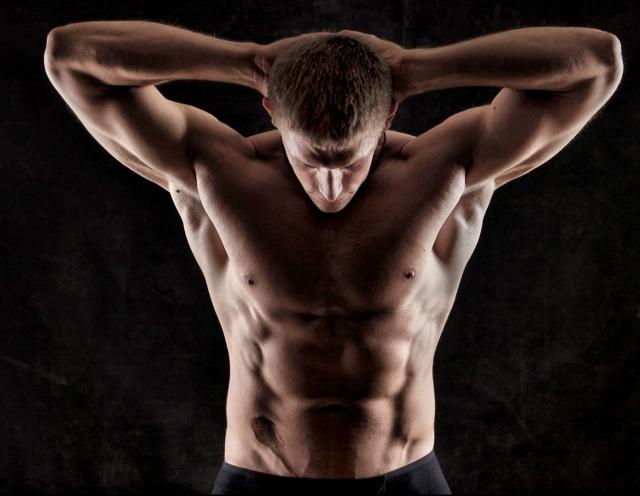 Hombre musculado
