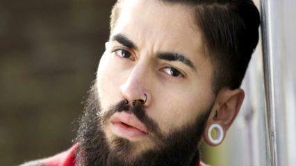 Hombre con barba