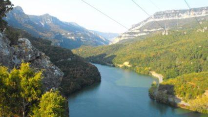 Primera vía ferrata de Euskadi en las hoces del Sobrón