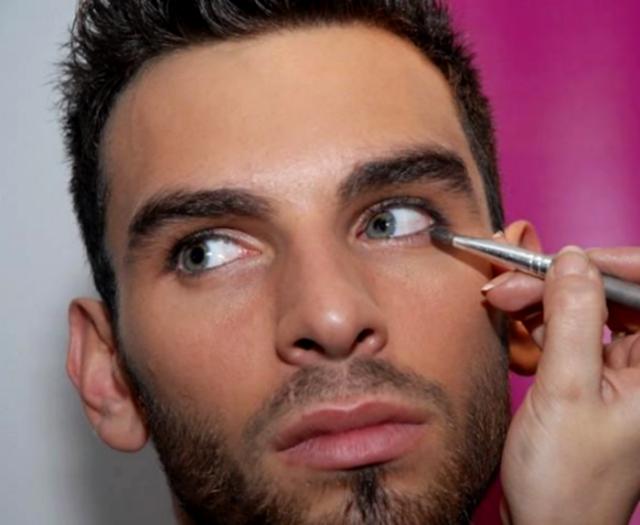 Make-up masculino