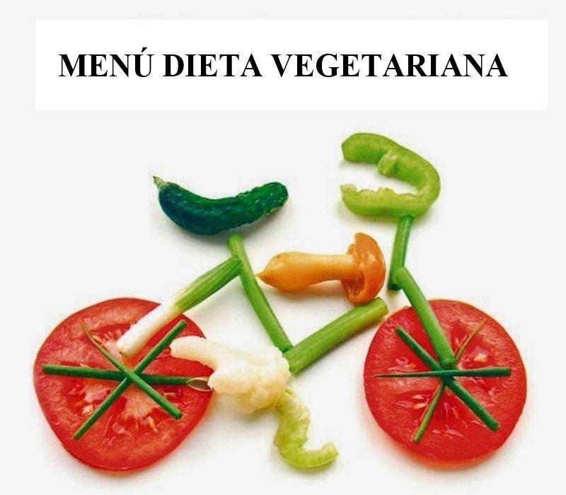Menu vegano bajar de peso