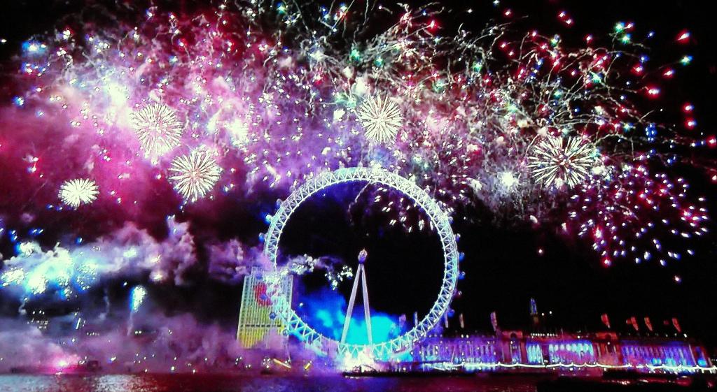 Año Nuevo en Londres 1