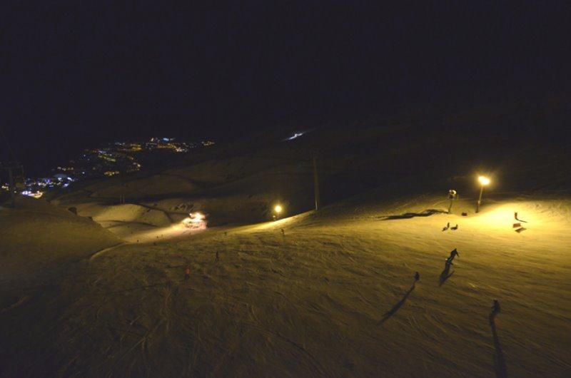 Esquiando en Sierra Nevada 2