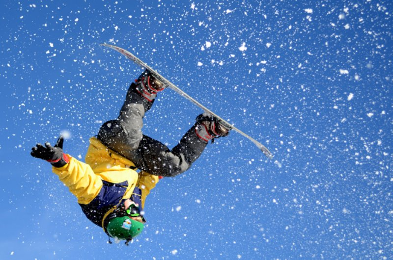 Esquiando en Sierra Nevada 3