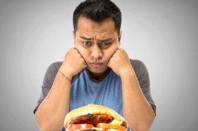 Régimen, pérdida de peso, y comida rápida