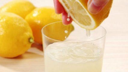 Dieta del Limón, bajar 4 kilos en una semana