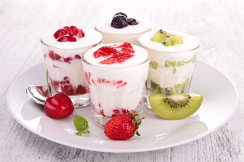 Adelgazar cenando yogures desnatados