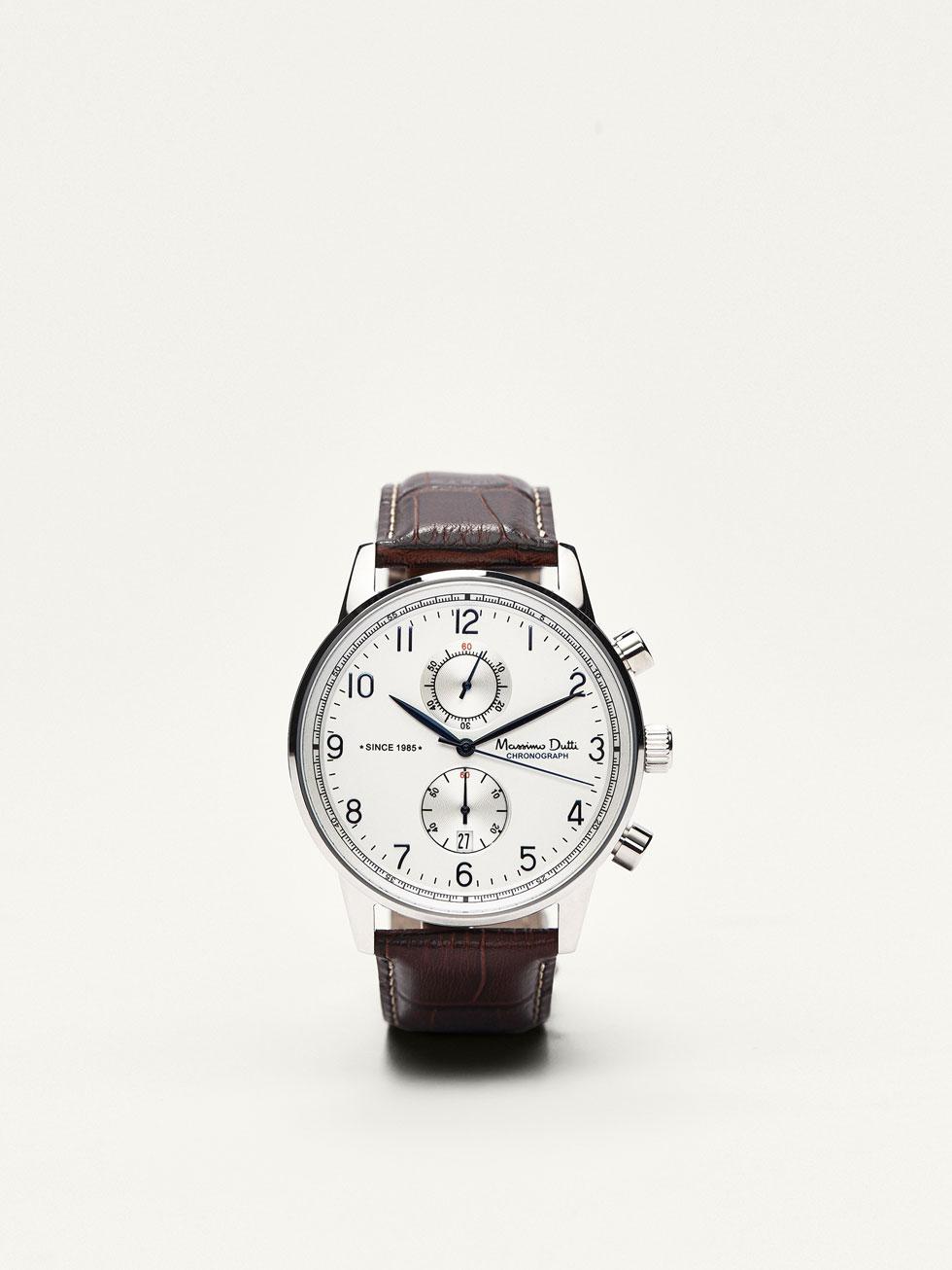 Lo ultimo en relojes masculinos de Massimo Dutti 2