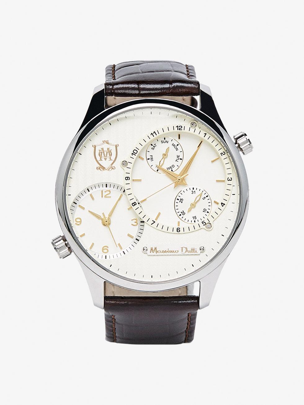 Lo ultimo en relojes masculinos de Massimo Dutti 3
