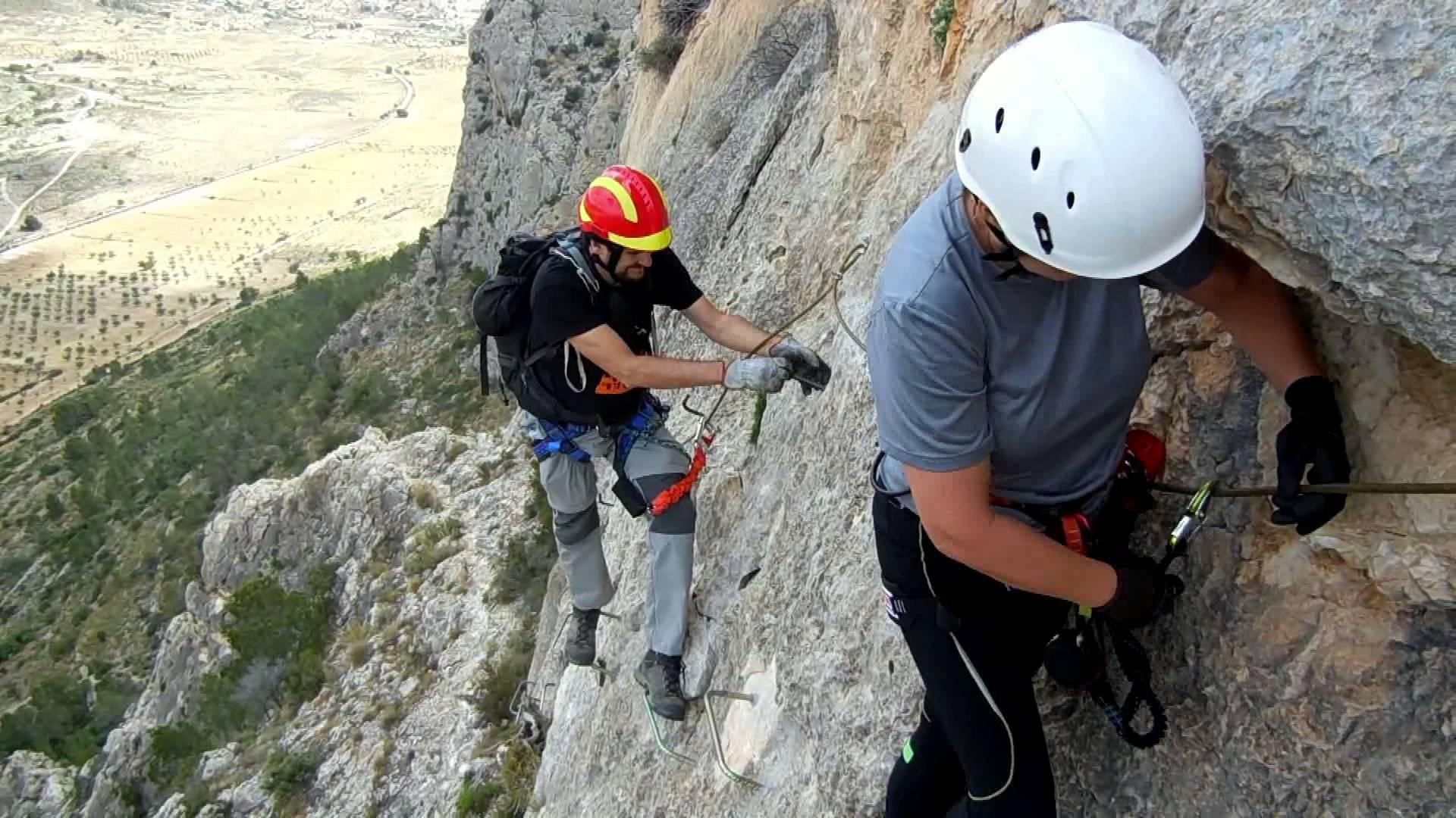 Técnicas de descenso: rapel 1